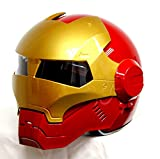 Best Motorcycle Helmets - Generic Masei 610 RedGold AtomicMan Racing Motorcycle DOT Review