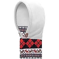AONIJIE Niños (3-12 año ) Multiusos Pasamontañas, uso térmico, forro polar con capucha, Máscara, para Actividades de Invierno al aire libre (Blanco)