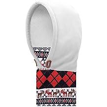 AONIJIE Multifunzione Bambini(3-12 anni) Outdoor Inverno Antivento Caldo Maschera, passamontagna in pile hat sciarpa ricopre i cappelli (Bianca)