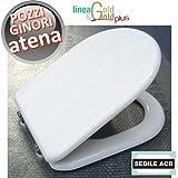 Sedile tavoletta per wc ATENA Pozzi Ginori - ACB linea GOLD