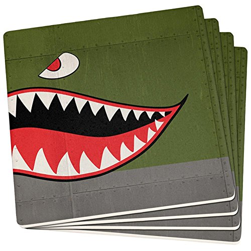 Old Glory Halloween WWII Fliegende Tiger Fighter Shark -