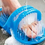 Fußbürste Dusche Fuß Wäscher Bad Keine Biegefüße Pinsel Fuß Reinigung Borsten Massager Slipper Bad Schuhe Stick auf Boden
