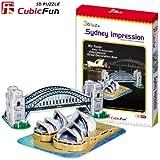 "CubicFun 3D Puzzle C-Serie CubicFun 3D Puzzle DIY-Serie ""Impresi?n de Sydney"""