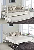 KOSY KOALA VERSAILLES GLOSSY VANILLA DAYBED UNDER BED TRUNDLE 3FT SINGLE DAY BED FRAME