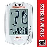 Cateye Fahrradcomputer Strada Wireless CC-RD 300W, weiß (wihte)