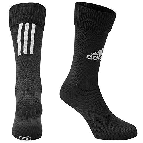 mens-genuine-adidas-high-style-santos-sports-training-football-socks-large-85-10-black-white