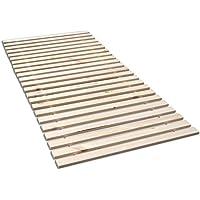 Madera Fichten Rollrost, Massives Fichtenholz mit 23 Leisten und Befestigungsschrauben - Grösse 140x200