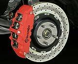 E-Tech Farbkit, für Bremssattel, Rot, hohe Qualität, genug Farbe um vier Bremssättel zu bemalen