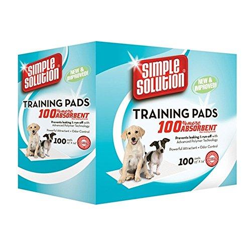 Einfache Lösung Wirtschaft Einweg Training Pads-(58x 56cm)-100Stück (Pads Solution Training Simple)