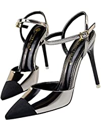Color Zapatos Para es Bronce Amazon Sandalias Mujer ZEpxTqn1w