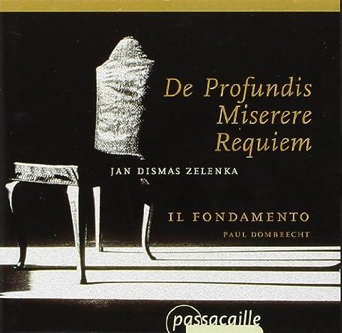 Zelenka : De Profundis - Requiem. Il Fondamento,