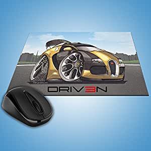 driv3N PC Tapis de souris de Bugatti Veyron