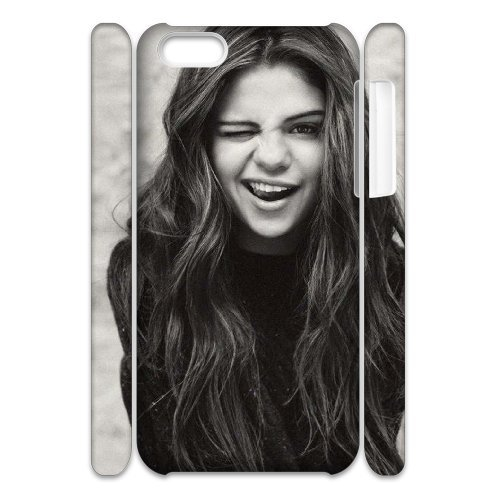 LP-LG Phone Case Of Selena Gomez For Iphone 4/4s [Pattern-6] Pattern-1