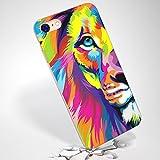 Inonler Una Pintura de un León Funda ()(iPhone 6/6S,Multicolor)