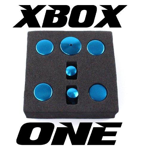 Xbox one mods ticks pro button set alluminio–azzurro