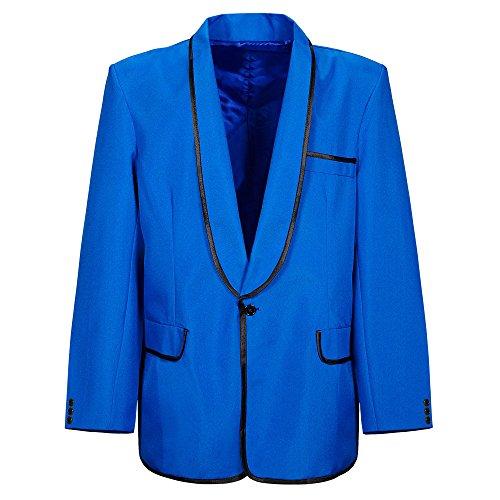 Widmann 05755 - Erwachsenenkostüm Mr. Style Jacke für Erwachsene, (Showgirl Blaue Kostüm)
