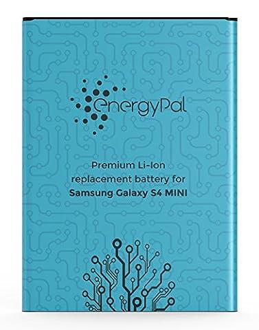 EnergyPal Galaxy S4 Mini Akku - 1900 mAh Li-Ionen ersatz akku für Samsung Galaxy S4 Mini , mit NFC