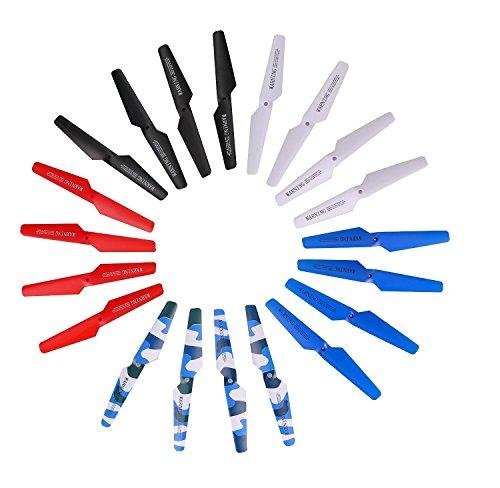 KidsHobby® 5 multi couleurs X5 x5C x5C-1 X5SC X5SW Pièces principales Lame Props Hélices remplacement pour X5 Series RC Mini Quadcopter Toy