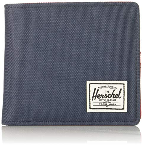 Herschel Hans Coin XL RFID Wallet Navy/Red -