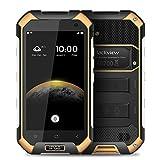 Blackview BV6000s 4G FDD-LTE IP68 impermeable 4.7inch Android 6.0 Smartphone 64Bit MT6735A Quad-core 2GB RAM 16GB ROM HD 720 * 1280pixel 4500mAh 8.0MP Cámara Moblie Teléfono (Naranja)