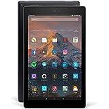 Das neue Fire HD 10-Tablet mit Alexa Hands-free (demnächst verfügbar), 25,65 cm (10,1 Zoll) 1080p Full HD-Display, 32 GB, schwarz, mit Spezialangeboten