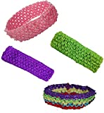 Hairbows 1.5 Tutu Crochet Headbands Asso...