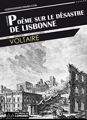 Poème Sur Le Désastre De Lisbonne French Edition Ebook