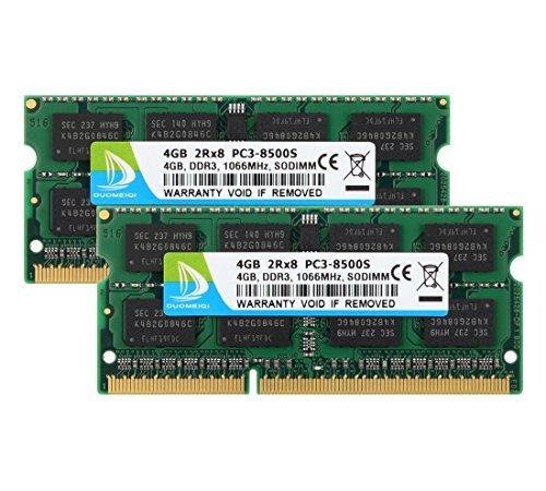 Duomeiqi 8GB Kit 2x 4GB DDR3memoria