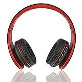 Kemai pieghevole stereo Bluetooth Headset super Bassc staccabile cavo 3.5mm, MP3portatile funzione supporto TF/SD musica cuffie Playbackc portare la funzione radio