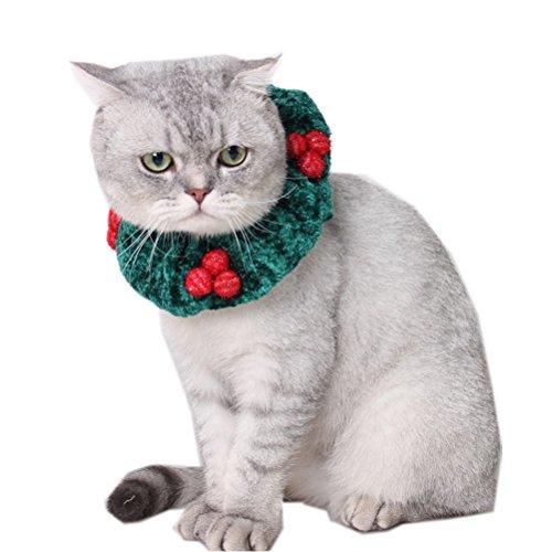 Zhhlaixing Haustierprodukt Elastic Pet Cosplay Dogs Cats Soft Halloween Cute Costume Fancy Dress Elastic (Cute Halloween Cat)