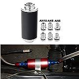 60mm ID bomba de combustible Soporte anodizado sola Billet Aluminio Filtro Abrazadera Cradle para Bosch 044