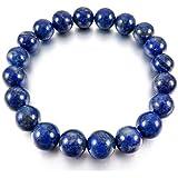 Lapis Lazuli Stone Bracelet/Natural 8MM Beads Lapis Lazuli Stone Bracelet Export Quality Lapis Bracelet 8MM Beads Size
