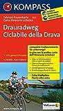 Drauradweg - Ciclabile della Drava 1 : 50 000: Fahrrad-Tourenkarte. GPS-genau