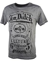 tee shirt von dutch m07c gris