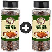 Organic Nation African Peri Peri Pet Bottle Seasoning 250Gr Pack of 2