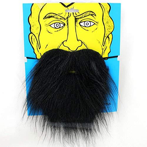 lustige Kostüm-Partei-gefälschter Bart Santa Claus Moustache - Schwarzes ()