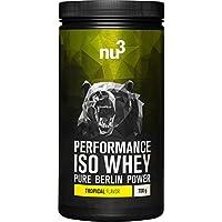nu3 - Performance Iso Whey | 700g | Poudre saveur tropical | Pur isolat de protéine de lactosérum | Contient 83%...