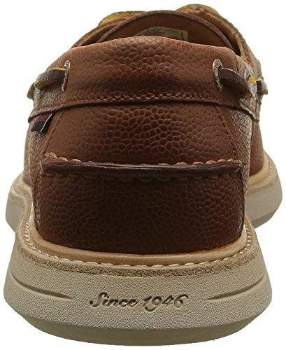 Sebago Herren Smyth Two Eye Derby Schnürhalbschuhe Braun (Brown Leather)