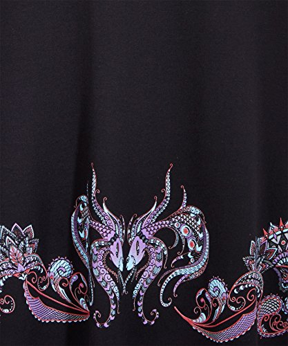 Joe Browns Damen Kleid Joes Favourite Border Dress Schwarz
