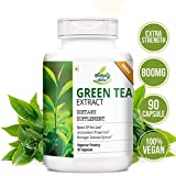 Simply Nutra Green Tea Extract Supplement With 90% Polyphenols, 40% Egcg 500 Mg - 90 Capsules