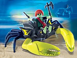 Playmobil 4804 figurine pirate fant me et crabe g ant jeux - Playmobil geant a vendre ...