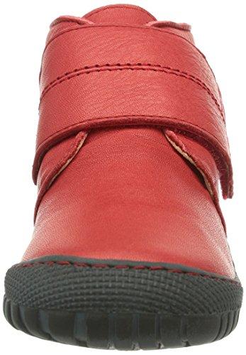 Pololo Elche, Chaussures bateau Mixte enfant Rosso (Rot (berry / 326))
