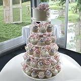 MVPOWER Tortenetagere Tortenständer Cupcake Ständer Hochzeitstorte Hochzeit Geburtstag Deko (7 Etagen)