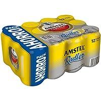Amstel Radler Limón Cerveza - Pack de 12 Latas x 330 ml - Total: 3.96 L