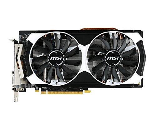 MSI V314-013R AMD Radeon R9 380 Grafikkarte (16x PCI-e 3.0, 2GB GDDR5 Speicher, DVI, HDMI, DisplayPort) (Grafikkarte R9 Amd)