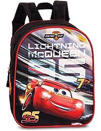 Preisvergleich für Disney Pixar Cars Kinderrucksack Rucksack schwarz rot 3-6 Jahre
