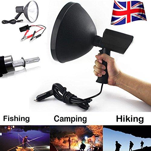 100W 22,9cm Jagd Spot Handheld HID H3fahren Lampe Camping Searchlight 6000K