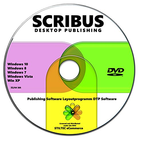 SCRIBUS 2018 Publishing Software Layoutprogramm DTP Software