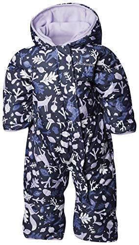 Columbia Schneeanzug für Kinder, Snuggly Bunny Bunting, Polyester, blau (nocturnal deers/soft violet), Gr. 18/24 Monate, 1516331