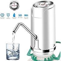 Houkiper Dispensador automático eléctrico portátil de la bomba del agua potable de Barreled del agua portátil